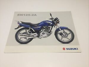 Sales Brochure Leaflet Spec Sheet Suzuki EN125-2A en125 en 125 125cc SUZUKI