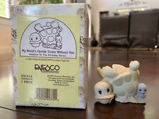 "New ListingPrecious Moments ""My World's Upside Down Without You"" porcelain~Enecso 1997~Nib"