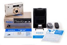 New Listing(20) Konica Revio Z3 Aps film camera w/all accessories, near Mint, functional