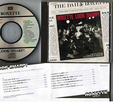 Roxette Look Sharp! Japan CD CP32-5827 W / F / o Insert 3,008 Jpy 1989 Número No