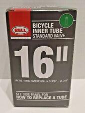 """Bell 16"""" BMX Kids Bike Inner Tube Standard Schrader Valve x 1.75""""-2.25""""  NEW"""