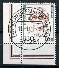 Bund Mi-Nr 2158  Ecke 3 (220) -Frauen der deutschen Geschichte- EST Frankf. 2001