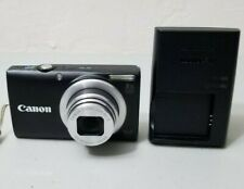 Canon PowerShot A4000 IS 16.0MP Digital Camera - Black *FINE/TESTED*