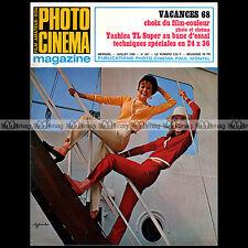 PHOTO CINEMA N°801 YASHICA TL SUPER JOHN CRAVEN JEAN NOLLE HENRI DAUBERVILLE '68