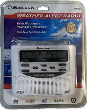 MIDLAND EMERGENCY WEATHER ALERT RADIO! WR120 w/Alarm Clock BRAND NEW IN PACKAGE!