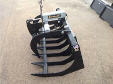 "BRAND NEW AMERICAN MADE TOMAHAWK 66"" SINGLE CYLINDER GRAPPLE FOR SKID STEERS"