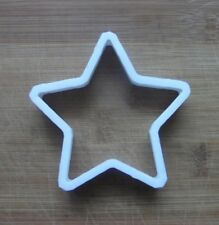 Star Shaped Cookie Cutter Biscuit Pastry Fondant Stencil made to size