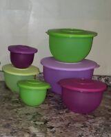Tupperware Impressions Set of Bowls