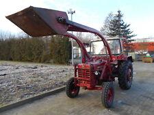 Traktor Schlepper mit Frontlader Schaufel Mähwerk IHC D 436 EZ1968 mit TÜV 2020