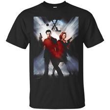 The X-Files Returns TV series Black Men's T-Shirt Tee