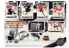 1X 1992 93 Upper Deck COLLECTOR SHEET Campbell Conference SERIAL #d Lots Availab