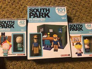 McFarlane South Park - Toolshed, Human Kite, PC Principal