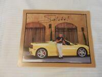 Mario Andretti Signed Photo from Andretti Winery with Yellow Ferrari