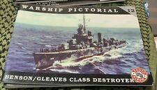 BENSON/GLEAVES CLASS DESTROYER WARSHIP PICTORIAL #12 CLASSIC WARSHIPS PUB
