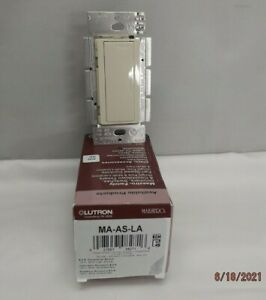 Lutron CW-LA 1, 2 and 3 Gang Wall Plates & Light Switches - (You Choose)