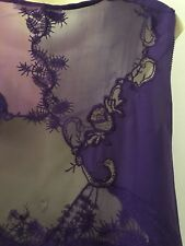Ermanno Scervino Purple Lilac Dress Size IT44 / AU12 /US10 Silk/Lace Bridesmaids