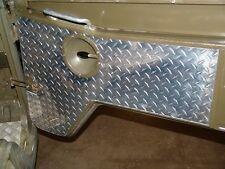 Door Panel Alu Aluminium Interior  pair  Swiss Army   Steyr Puch Pinzgauer