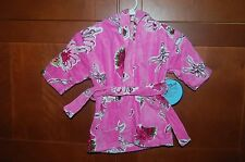 BATH ROBE Terry Coverup Size L (7) Girl BALLET DANCER NWT
