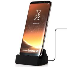 Desktop Dock Apple/Type-C USB Charging Charger Data Cradle Stand Station✔BLACK