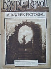 Egypt In Revolt/American Sentry at Molsberg WWI 4-17-19 Mid-Week Pictorial mag