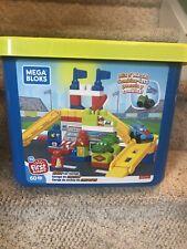 Mega Bloks Race Car Garage Building Set 60 Pieces Mega Blocks Ages 1+