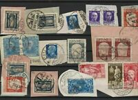 fiume and stamps cancelled on piece ref r10968