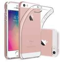Dünn Slim Cover Apple iPhone 5 5S SE Handy Hülle Silikon Case Schutz Tasche