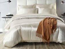 """100%SILK-SHEET Set 4pce*DOUBLE-Organic""""IVORY""""22mXThick""""Skin+HairCare*BUY  NOW*BR"""