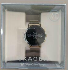 Skagen Falster 2 40 mm Magnetic Buckle Smartwatch, Gold Stainless Steel