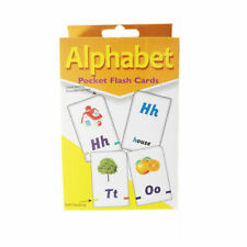 Children's ABC Alphabet Pocket Flash Cards