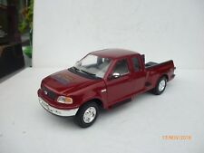 1:18 Mira Ford F-150 1998 red  4 x 4 DRIVE DUBBLE CABINE  TEXAS  MAROON Ohne Box