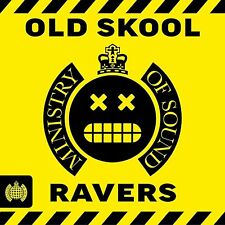 OLD SKOOL RAVERS 3 CD SET VARIOUS ARTISTS (New Release 2017)