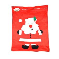 Large Father Christmas Santa Sack Red Stocking Bag Presents Xmas Gifts