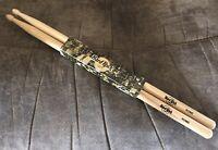 "Hard Rock Cafe Rome Natural Wood Souvenir 16"" Drumsticks"