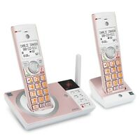 Att Landline Phone Home Cordless Dect 6.0 With Answering System Call Blocker