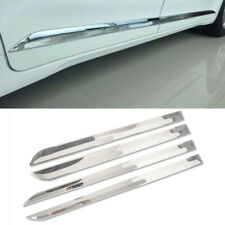 Chrome Body Side Door Molding Trim Cover Protecter For Toyota Sienna 2011-2020