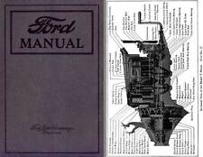 Ford Manual 1922 Model T - For Owners and Operators of Ford Cars and Trucks
