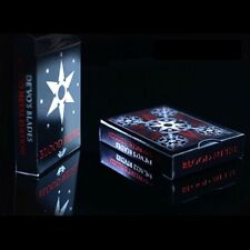 BLADES BLOOD METAL DECK of Playing Cards by De'Vo