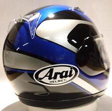 Arai Quantum f Chandler Blue Silver motorcycle helmet Yamaha Sm Md Lg XL Yamaha