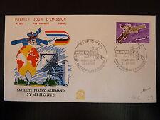 FRANCE PREMIER JOUR FDC YVERT 1887  SATELLITE SYMPHONIE 1,40F ISSY LES MOUL 1976