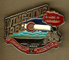 1988 Wing Ding, Gold Wing Road Riders, Honda Motorcycles GWRRA BELT BUCKLE,Aspen