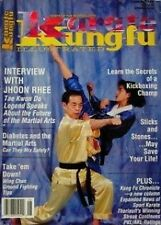 6/90 KARATE KUNG FU MAGAZINE JEAN YVES THERIAULT JHOON RHEE MARTIAL ARTS