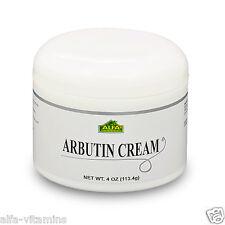 Arbutin Cream 4 oz.  Helps Skin Whitening,  Dark Spots and Blemish Control