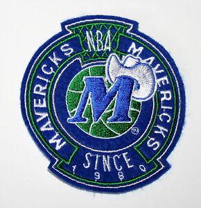 Dallas Mavericks Since 1980 NBA Basketball Team Jersey Jacket Patch New NOS