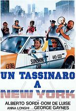 UN TASSINARO A NEW YORK  VHS 1a Ed.DomoVideo  Alberto SORDI