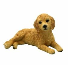 Goldendoodle Dog Figurine Statue Hand Painted Resin pet lovers gift