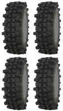 Four 4 Frontline ACP ATV Tires Set 2 Front 32x10-15 & 2 Rear 32x10-15