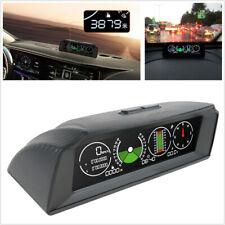 Multifunction Auto Car Inclinometer Gradient GPS Slope Meter Compass Speedometer
