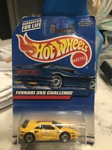 Hot Wheels Mattel FERRARI 355 Challenge 1:16 Scale. Pre Owned 12yrs First Owned