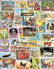 Niger 600 Stamps Different